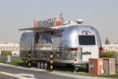 Camion urbano dei frutti di mare nel Dubai, UAE Immagini Stock