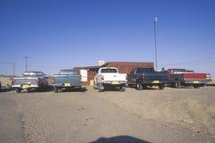 Camioncini scoperti sul Navajo Immagine Stock Libera da Diritti