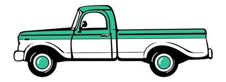 Camioncino Fotografia Stock