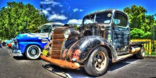 Camioncino americano d'annata di Chevy degli anni 30 Fotografie Stock Libere da Diritti