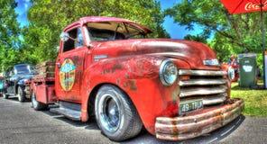 Camioncino americano d'annata di Chevy degli anni 40 Immagini Stock