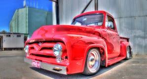 Camioncino americano d'annata di Ford fotografie stock