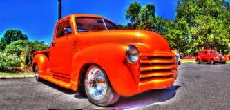 Camioncino classico di Chevy dell'americano Fotografia Stock