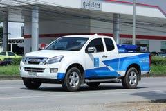Camioncino di AUTORITÀ PROVINCIALE di WATERWORKS immagini stock libere da diritti