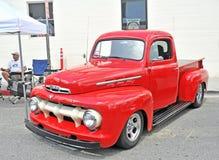 Camioncino scoperto 1951 del Ford F1 Immagine Stock