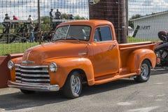 Camioncino scoperto 1950 della Chevrolet Fotografie Stock