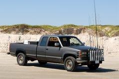 Camioncino scoperto di Fishermans fotografie stock libere da diritti