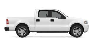 Camioncino scoperto isolato illustrazione di stock