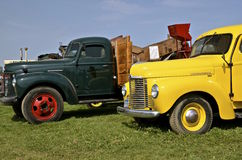 Camiones internacionales restaurados Fotos de archivo libres de regalías