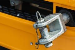 Camiones y gancho de parachoques de la remolque para remolcar Imagenes de archivo