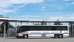 Camioneta expresso em Kennedy Space Center fotografia de stock