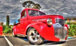 Camioneta pickup clásica de Chevy del americano de los años 30 fotos de archivo