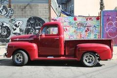 Camioneta pickup de 1956 Ford Imagen de archivo libre de regalías
