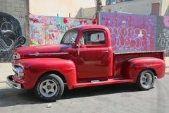 Camioneta pickup de 1956 Ford Fotografía de archivo libre de regalías