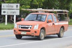Camioneta pickup de los servicios de transporte de TOT Corporation imagenes de archivo