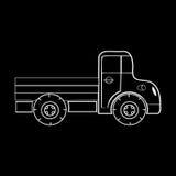 Camionete com um corpo aberto Fotografia de Stock Royalty Free