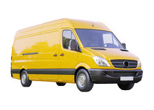 Camionete comercial isolada imagem de stock royalty free