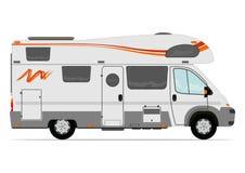 Camionete de campista Imagem de Stock Royalty Free