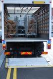 Camionete de entrega Fotos de Stock Royalty Free