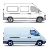 Camionete de entrega Imagem de Stock