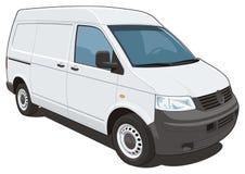 Camionete de entrega Imagem de Stock Royalty Free