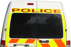 Camionete de polícia britânica Imagem de Stock Royalty Free