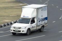 Camionete de soluções do serviço dos cuidados médicos Imagens de Stock Royalty Free