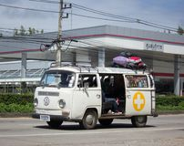 Camionete de volkswagen do vintage Imagens de Stock