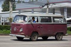 Camionete de volkswagen do vintage Fotos de Stock Royalty Free