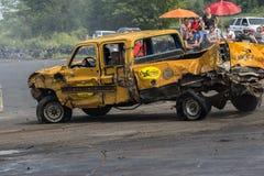 Camionete destruído Foto de Stock Royalty Free