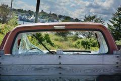 Camionete destruído Fotos de Stock