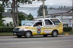 Camionete do salvamento do salvamento de Chiangmai Ruamjai Foto de Stock Royalty Free