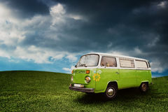 Camionete do vintage Imagem de Stock Royalty Free