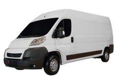 Camionete longa do transporte Imagens de Stock