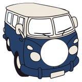 Camionete retro ilustração do vetor