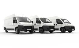 Camionetes de entrega ilustração do vetor