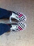 Camionetes em meus pés Imagens de Stock