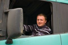 Camionista Fotografia Stock Libera da Diritti