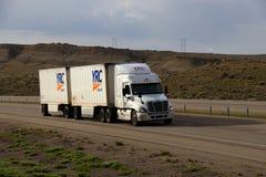 Camionnage de YRC Images stock