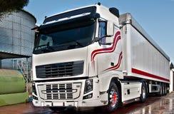 Camionnage et logistique Photographie stock libre de droits
