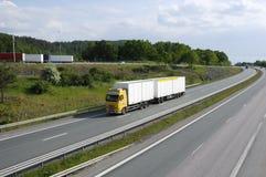 Camionnage propre dans le pays images libres de droits