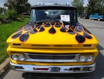 Camionnette de livraison 1960 de Chevy images libres de droits