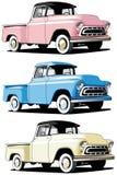Camionnette de livraison américaine Image stock