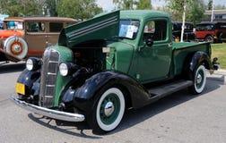 Camionnette de livraison de 1936 détours photos stock