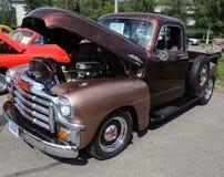 Camionnette de livraison de 1954 GMC images stock