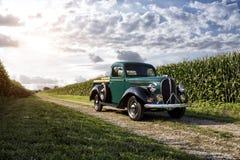 Camionnette de livraison 1938 de Ford Photos libres de droits