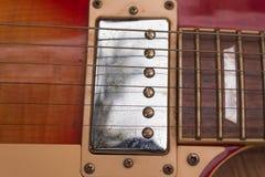Camionnette de livraison de guitare électrique Image libre de droits