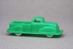 camionnette de livraison en plastique de mémoire de dixième de dollar des années 50 Images stock
