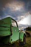 Camionnette de livraison rouillée Photo libre de droits