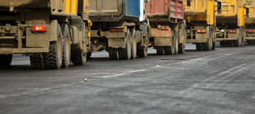 Camions Images libres de droits
